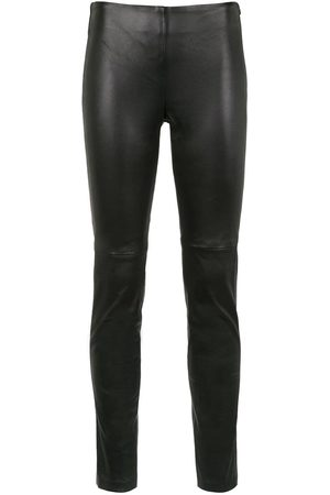 Uma Raquel Davidowicz Silicio leather pants