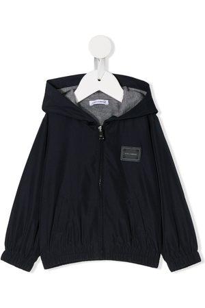 Dolce & Gabbana Zipped hooded jacket