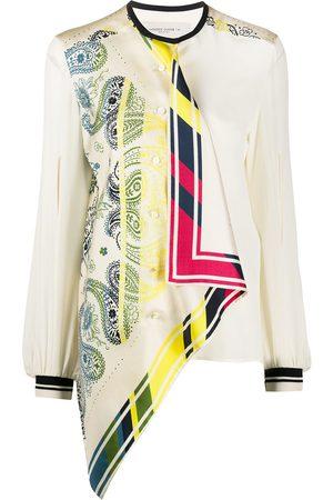 Golden Goose Printed asymmetric blouse
