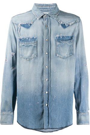 Saint Laurent Classic western denim shirt
