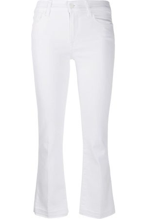 7 for all Mankind Senhora Bootcut & Boca-de-sino - Cropped Bootcut Illusion jeans
