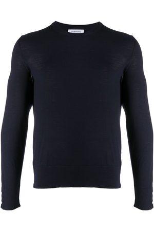 Thom Browne 4-Bar back stripe jumper