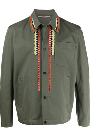 VALENTINO Embroidered shirt jacket