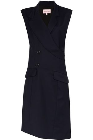 Natasha Zinko Senhora Blazers - Sleeveless mid-length blazer