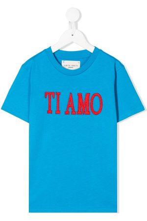 Alberta Ferretti Kids Menina T-shirts & Manga Curta - Ti Amo T-shirt