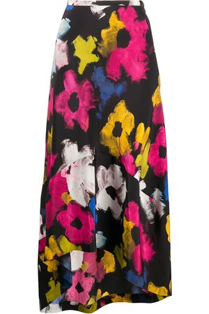 Colville Senhora Saias Estampadas - Floral flounce skirt