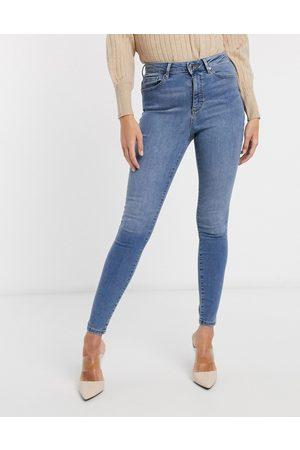 Vero Moda Skinny jean with high waist in light blue