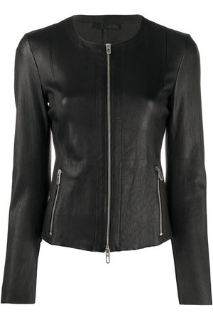 DROME Fitted zipped jacket