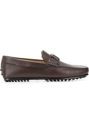 Tod's T-plaque driving loafers