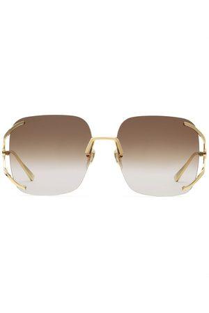 Gucci Eyewear Square-frame gradient sunglasses