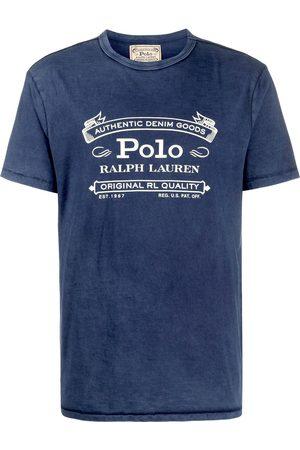 Polo Ralph Lauren Homem T-shirts & Manga Curta - Logo print short-sleeve T-shirt