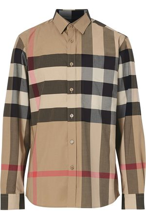 Burberry Oversized check shirt