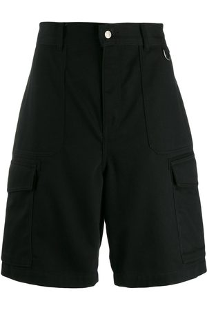 Ami Paris Men Patch Pockets Bermuda Shorts