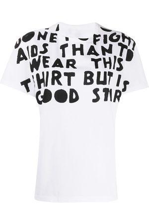 Maison Margiela AIDS Charity-print T-shirt