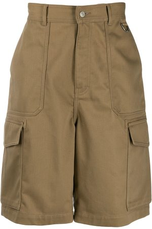 Ami Paris Patch pocket bermuda shorts