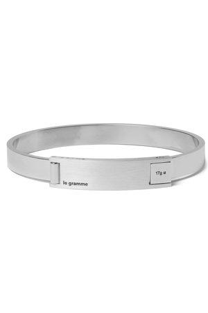 Le Gramme Homem Pulseiras - Assemblage Le 21 Brushed And Sterling Bracelet