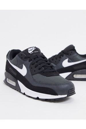 Nike Air Max 90 Recraft trainers in black/grey