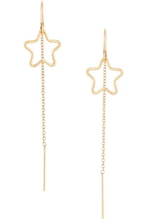 Petite Grand Star thread through earrings