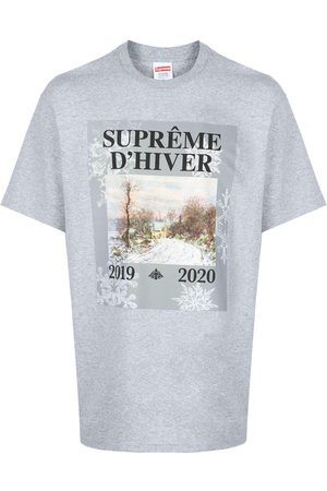 Supreme Winter print T-shirt