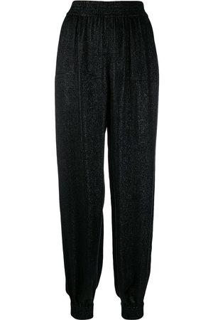 Saint Laurent Shiny harem trousers