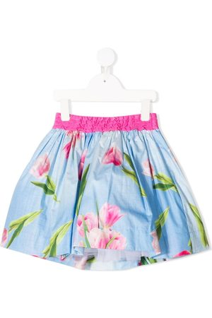Monnalisa TEEN floral mini skirt