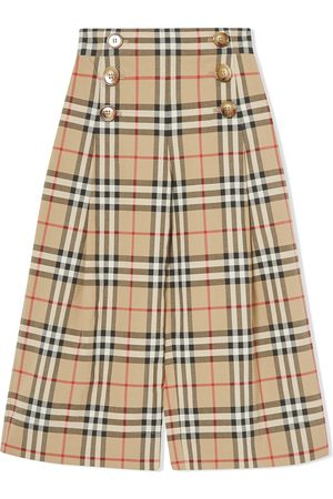 Burberry Vintage check sailor trousers