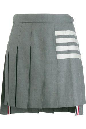 Thom Browne 4-Bar Engineered Pleated Mini Skirt