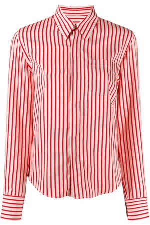 Ami Paris Striped button-front shirt