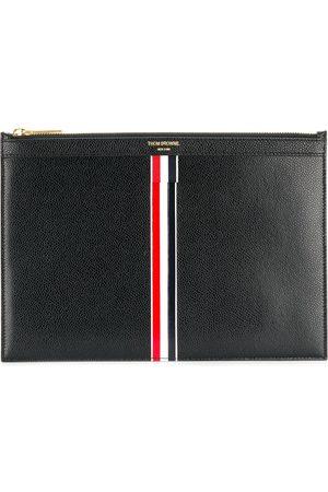 Thom Browne Homem Pastas Negócios & Laptop - Vertical Intarsia stripe small tablet holder