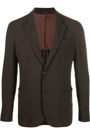 Armani Homem Blazers - Lightweight buttoned blazer