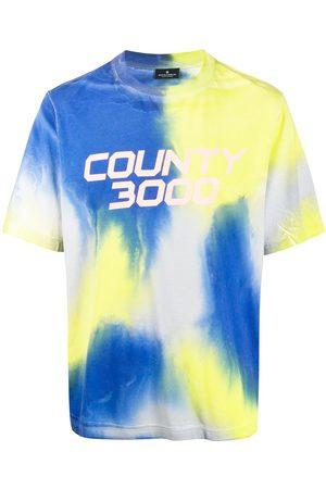 Marcelo Burlon County Of Milan Tie-dye logo T-shirt