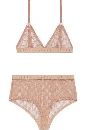 Gucci Senhora Conjuntos de Lingerie - GG tulle lingerie set
