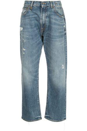 R13 Bain mid rise boyfriend jeans