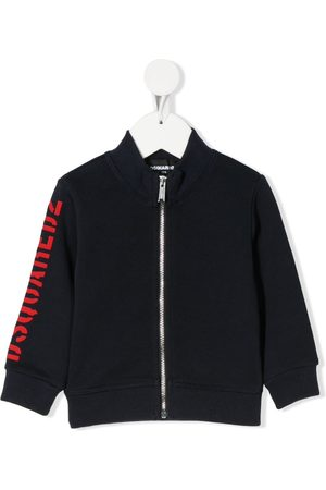 Dsquared2 Kids Logo-print zip-through jacket