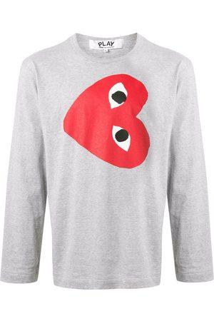 Comme des Garçons Sideways heart print T-shirt