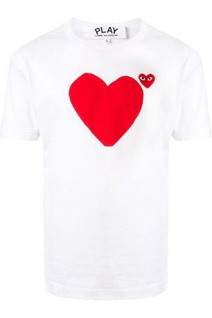 Comme Des Garçons Play Heart print logo T-shirt