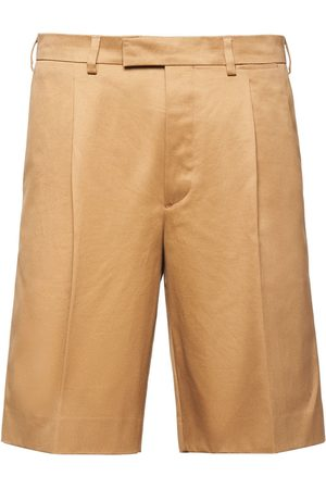 Prada Pleated front bermudas