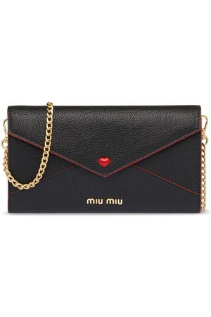 Miu Miu Envelope chain wallet