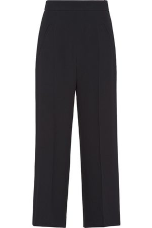 Prada Contrasting side tape culottes
