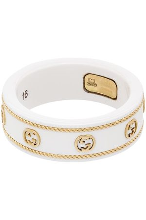 Gucci Senhora Anéis - 18kt GG logo ring