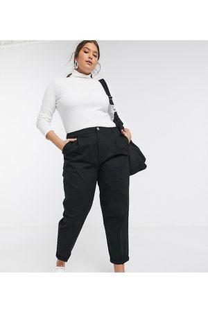 ASOS ASOS DESIGN Curve chino trousers in black