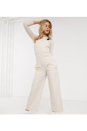 Puma Dungaree in cream exclusive to ASOS