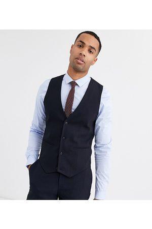 ASOS Tall skinny suit waistcoat in navy