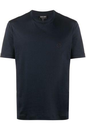 Armani Homem T-shirts & Manga Curta - Short-sleeved crew neck T-shirt