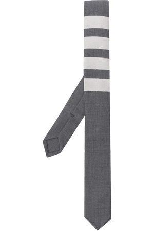 Thom Browne Homem Laços de Colarinho - 4-bar plain weave tie