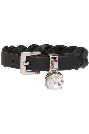 Miu Miu Braided crystal bracelet