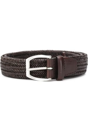 Orciani Braided style buckled belt