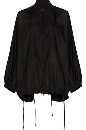 VALENTINO Knit detail batwing raincoat