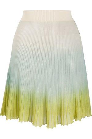 Jacquemus Helado gradient knitted skirt