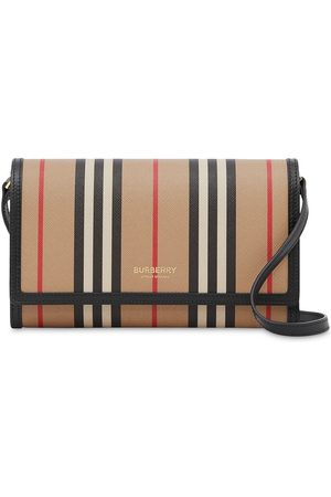 Burberry Icon Stripe crossbody wallet
